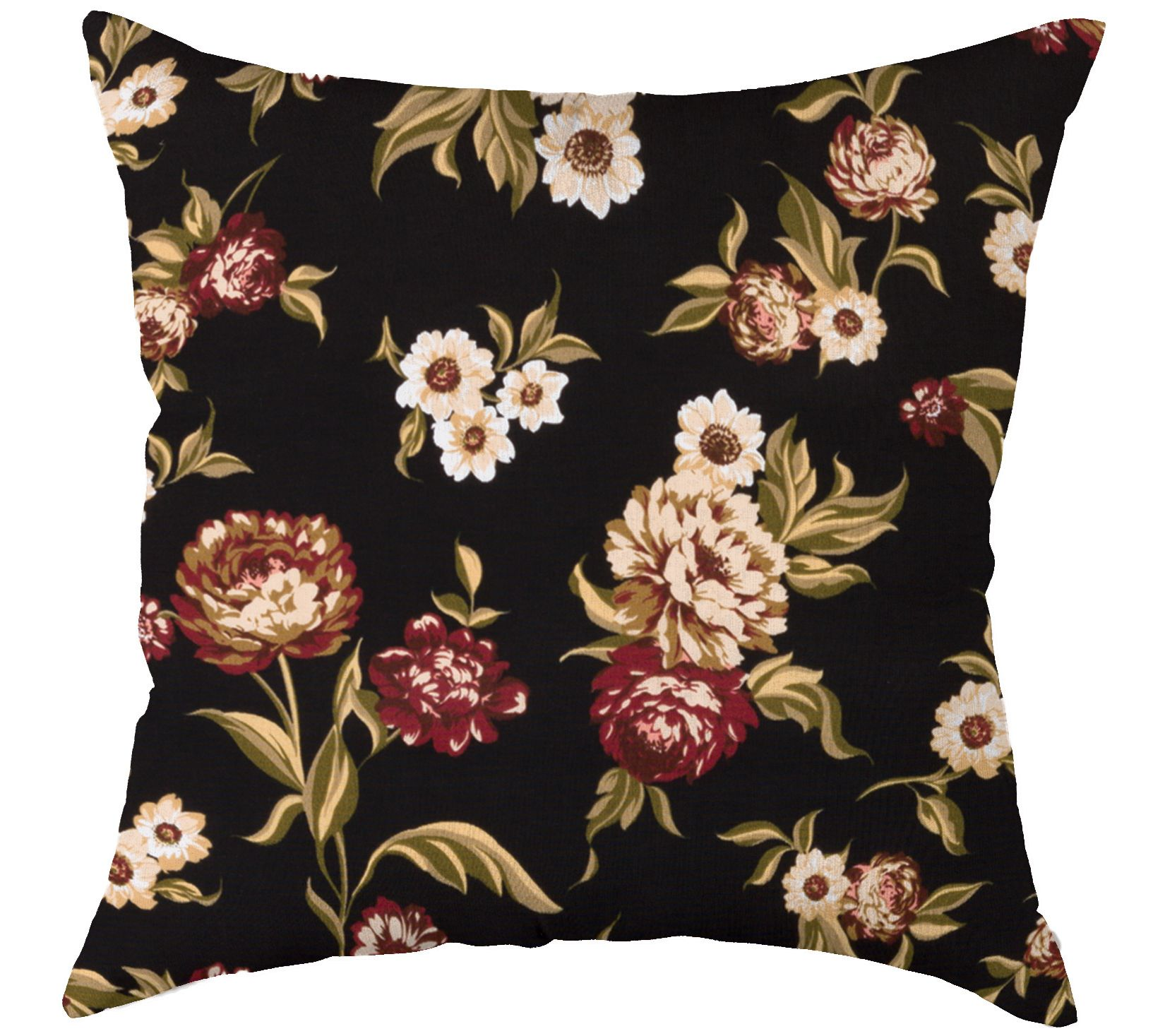 Plow Hearth Polyester Classic Outdoor Throw Pillow Page 1 Qvc Com