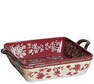 Temp-tations Floral Lace Basketweave Bread Basket - H296175