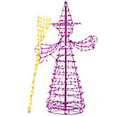 5-foot LED Witch Figure by Santas Best - H209276