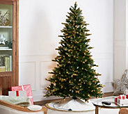 Casa Zeta-Jones 6.5 Douglas Fir LED Function Frosted Tree - H216276