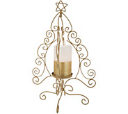 Lightscapes 16 Metal Scroll Tree w/Flameless Candle - H216576