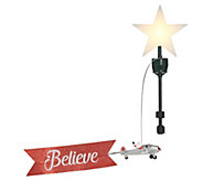 Mr. Christmas Animated Biplane Tree Topper - H216876