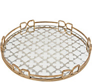 Valentina Gold Decorative Tray by Valerie - H295776