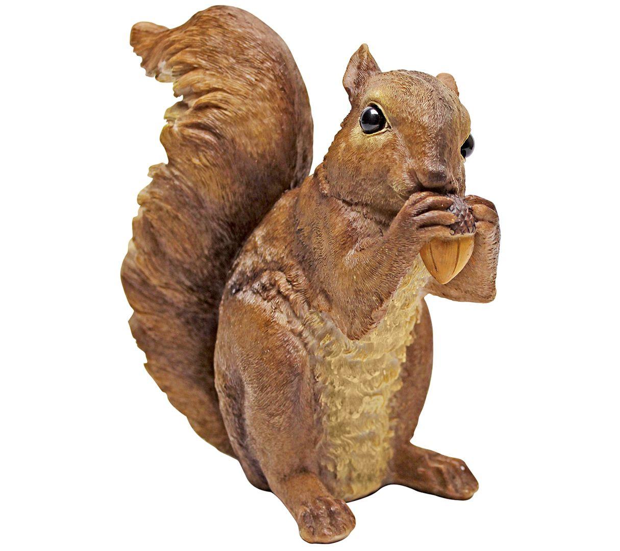 Design Toscano Chomper Woodland Squirrel Statue — QVC com
