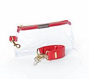 KEYPER Two-Piece Keyper & IT Bag Luxe Clear Set - H311276