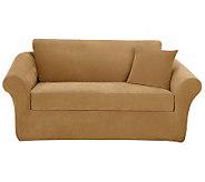 Sure Fit Stretch Pique 3-Piece Sofa Slipcover - H349976