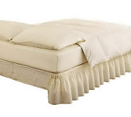 EasyFit Twin/Full Wraparound Solid Ruffled BedSkirt - H367576