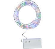 Pacific Accents Indoor/Outdoor 17.5 Battery Op. Rope Light w/8 Functions - H212877