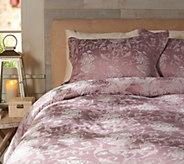 Casa Zeta-Jones Floral Jacquard Reversible FL Comforter Set - H213477