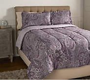 3-piece Queen Paisley Comforter Set by Valerie - H214077