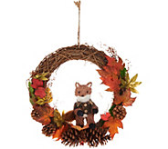 Harvest Fox 15 Wreath by Valerie - H214977