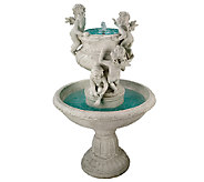 Design Toscano Cherubs at Play Sculptural Garden Fountain - H282677