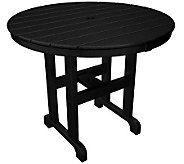 POLYWOOD Traditional Round 36 Dining Table - H349877