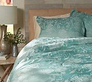 Casa Zeta-Jones Floral Jacquard Reversible Queen Comforter Set - H213478