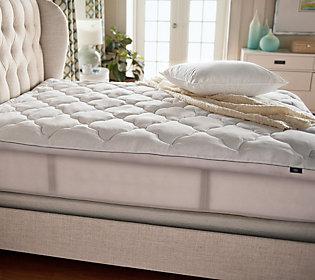 Serta Perfect Sleeper Luxury TW Mattress Topperw/ Scotchgard