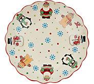 Temp-tations Winter Whimsy Seasonal Platter - H217078