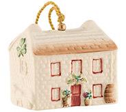 Belleek 2018 Kerry Farmhouse Annual Bell Ornament - H298278