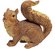 Design Toscano Scamper Woodland Squirrel Statue - H300578