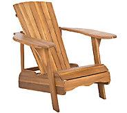 Safavieh Mopani Adirondack Wood Chair - H286479
