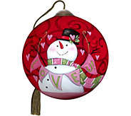 3.00 Love U! Snowman Ornament by NeQwa - H294279