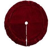 72 Plush Red Velvet Treeskirt by Vickerman - H301279
