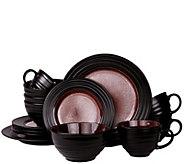 Elamas Liana 16-Piece Stoneware Dinnerware Set - H301979