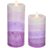 S/2 Mirage Flameless Candles by Candle Impressions - H210281