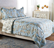 Anniversary 3pc Queen Jacobean Reversible Comforter Set by Valerie - H214081