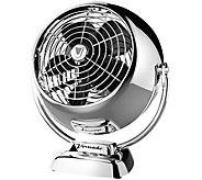 Vornado VFan Jr. Compact Vintage-Style Circulator Fan, Chrome - H289181