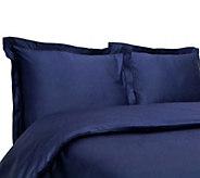 Elite Home Hemstitch 400TC 100Cotton 3-PieceKing Duvet Set - H296781