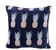 Berkshire Blanket Velvet Soft Pineapple StripePillow - H302881