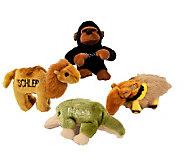 Chewish Treats Zoo Pals Bundle Dog Toys - H185782