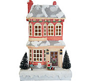 Choice of Illuminated Musical Winter Village Scenes by Valerie - H211382