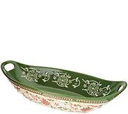 Temp-tations Seasonal Basketweave Centerpiece Bowl - H217082