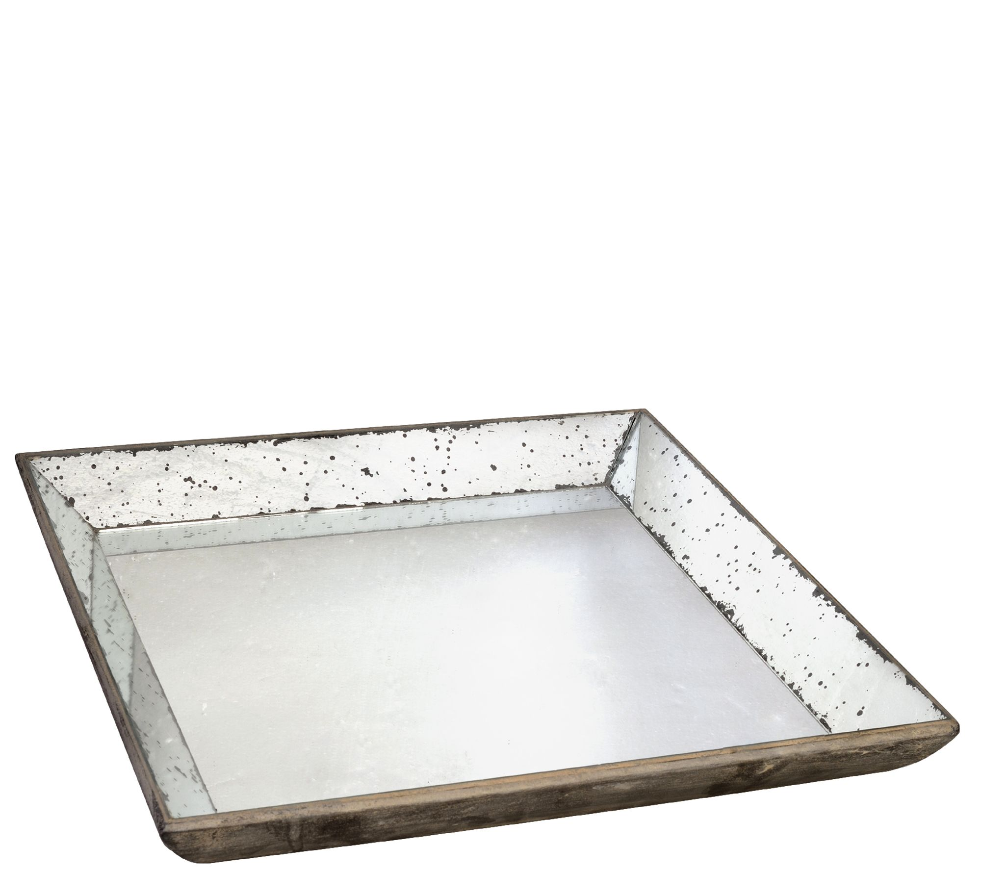 20 Square Mirrored Tray By Valerie