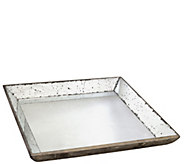 20 Square Mirrored Tray by Valerie - H290482