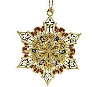 Americana Snowflake Ornament by Beacon Design
