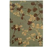 Sphinx Silk Flowers 4 x 6 Wool Rug by Oriental Weavers - H355182