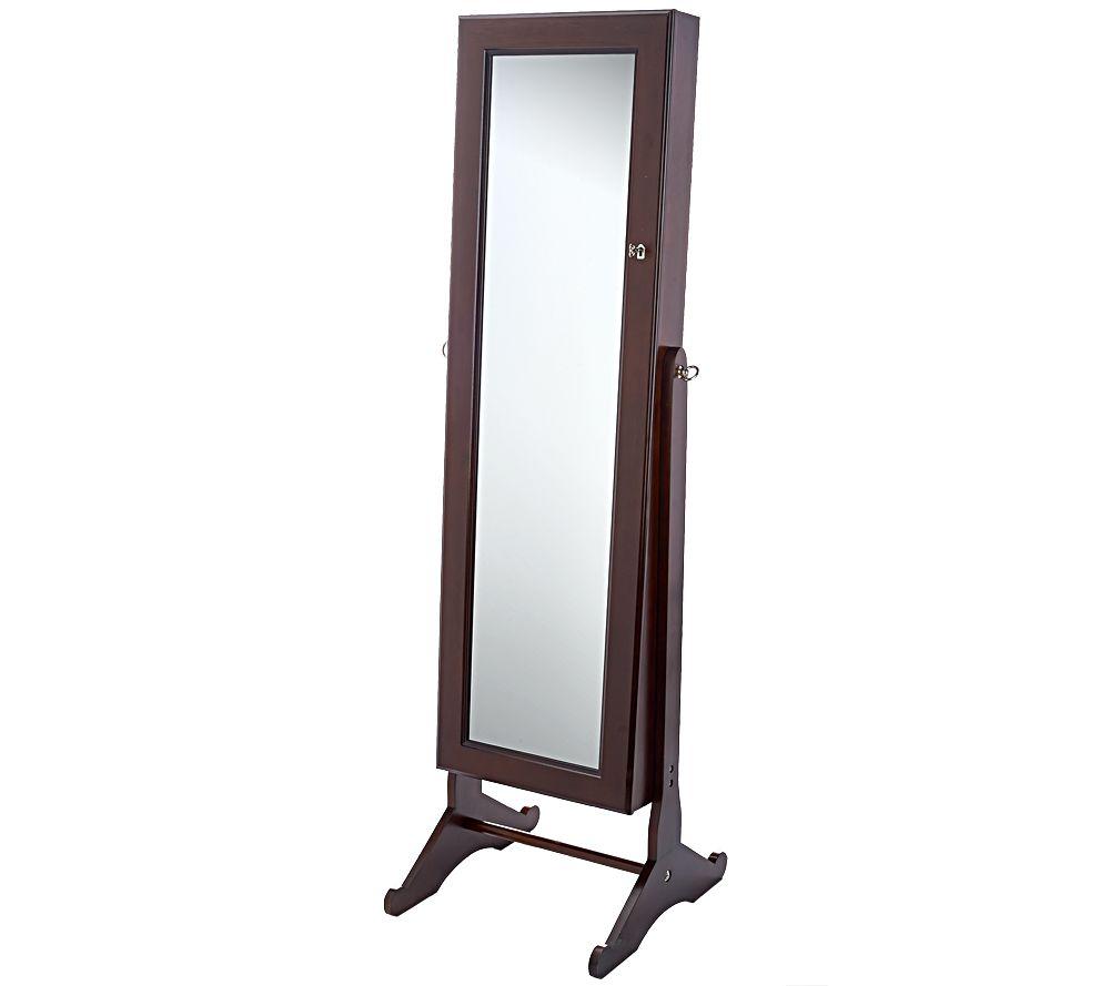 Free standing mirrored