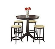 Hillsdale Furniture Tiburon 5-Piece Pub Table Set - H159383