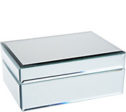 Mirrored Treasure Keepsake Box w/ Beveled Edges by Valerie - H213783