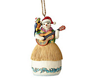 Jim Shore Heartwood Creek Margaritaville Snowman with Guitar Ornament - H216183