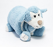 Berkshire Blanket Cozy Throw Animal Buddy Snuggle Set - H216783