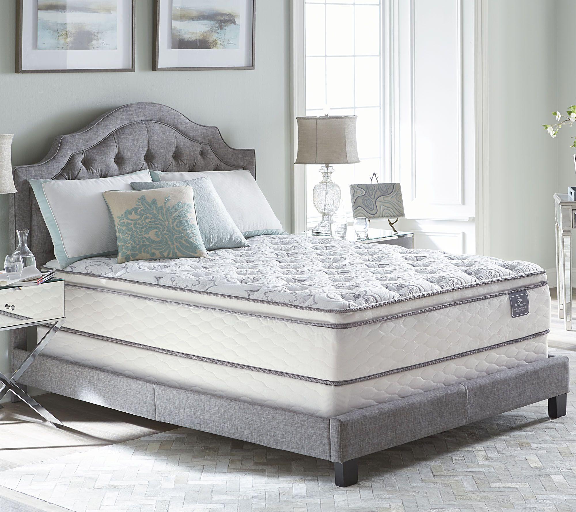 Serta Perfect Sleeper Cache Hotel Pillowtop Queen Mattress Set