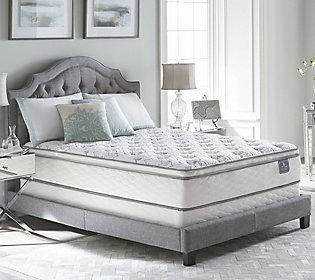 Serta Perfect Sleeper Cache Hotel Pillowtop QNMattress Set