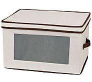 Household Essentials Storage Stemware Chest - Balloon Glasses - H282483
