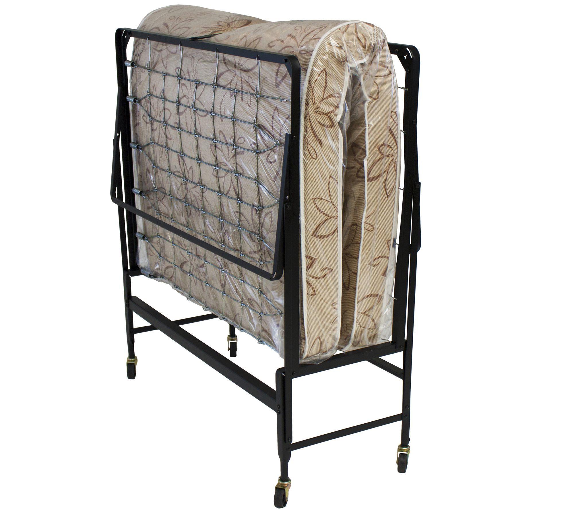 Serta Twin Size Rollaway Bed with Fiber Mattress — QVC.com