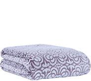 Berkshire Blanket Tile Floral Velvet Soft KingBed Blanket - H292883