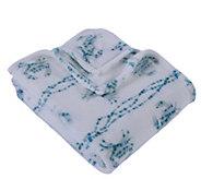 Berkshire Blanket Cozy Crab Crawl Velvet Soft Throw Blanket - H302883