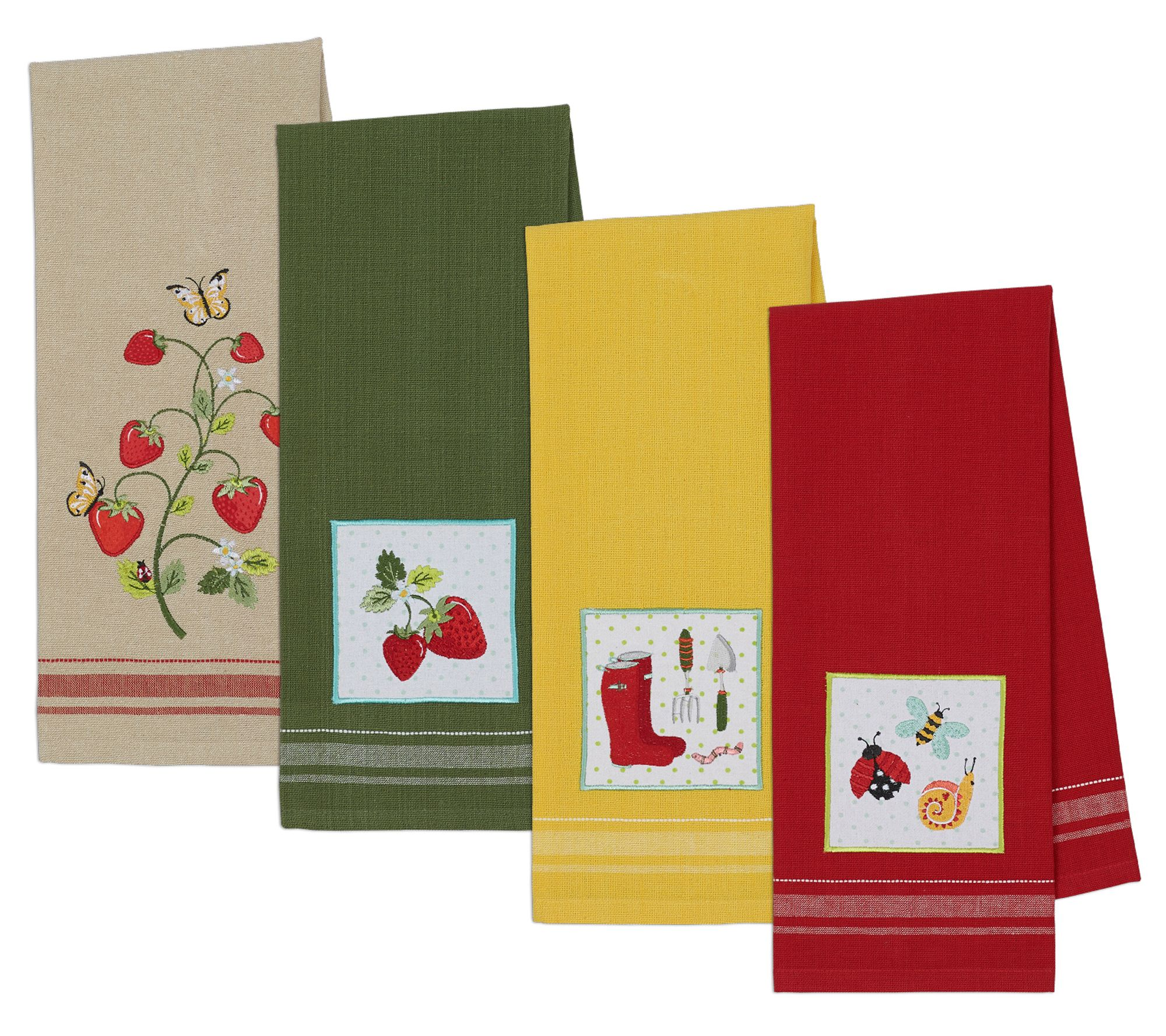 Strawberry Patch Kitchen Towels